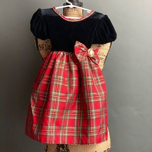 Beautiful Girls Holiday Dress Size 5